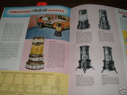 History Of The Perfection Stove Company