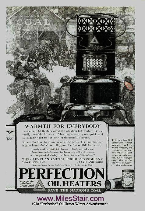 Perfection 1918 Advertisement