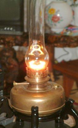 Old Vintage Table Lamp