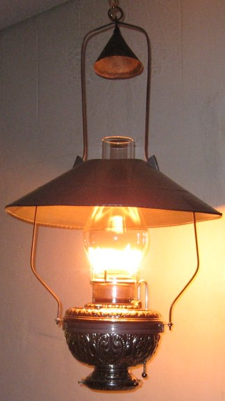( 2nd Model lighted.) & CENTER DRAFT LAMPS Photos and Information